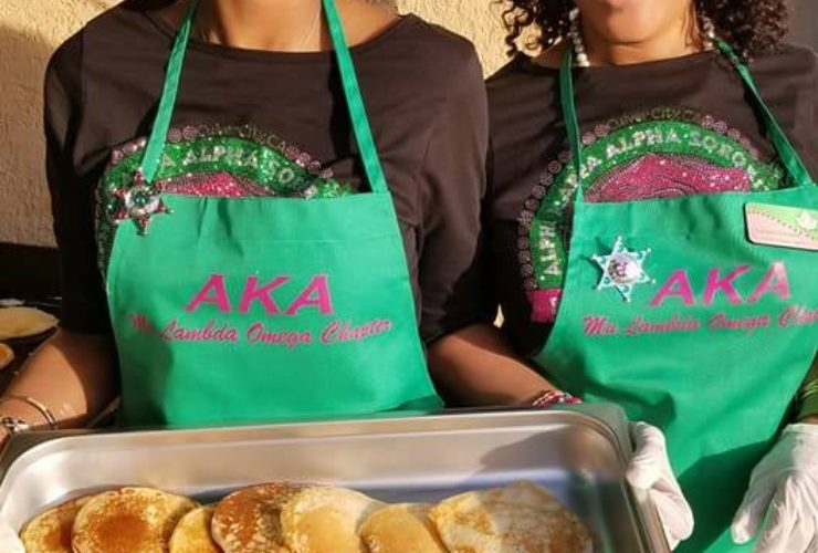 MLO Chapter hosts 1st Annual Founders' Day Pancake Breakfast Fundraiser
