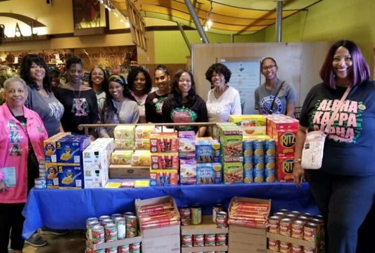 MLO Serves CCUSD at Backpacks for Kids Food Drive